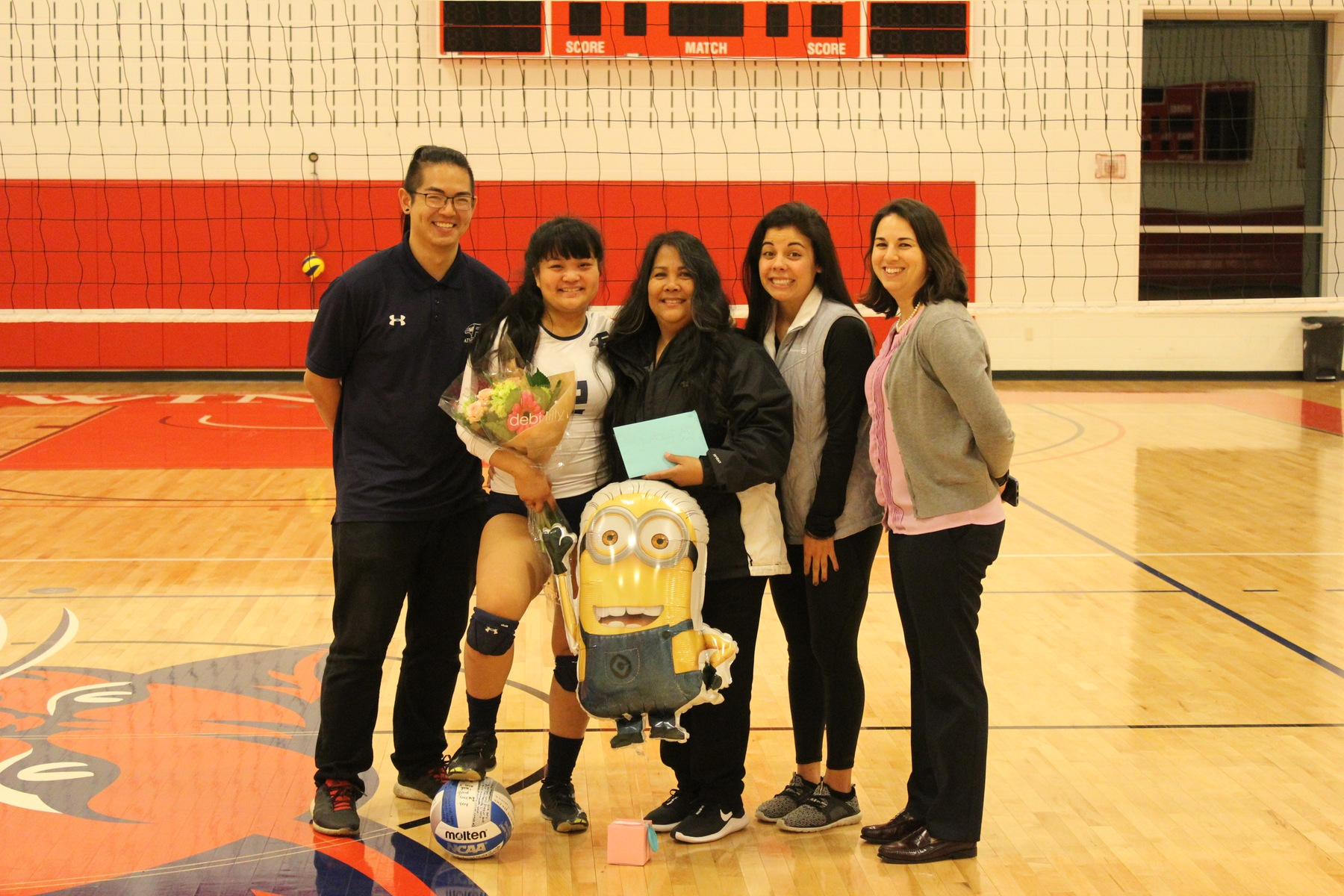 Senior Natie Manalo Helps The Falcons Soar Over The Bucs, 3-1, On Her Senior Night