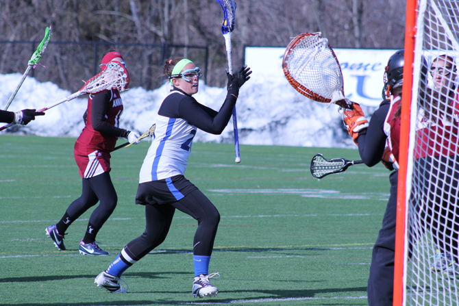 Women's Lacrosse Soars Over Green Mountain