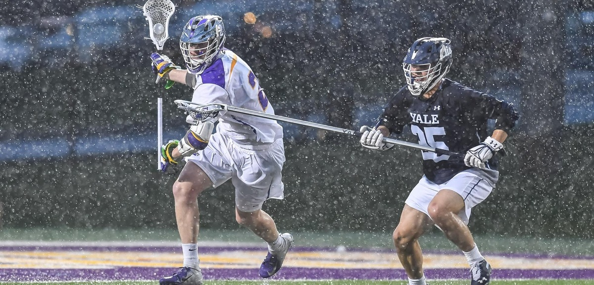 Yale Beat Albany in wet conditions at Casey Stadium last week