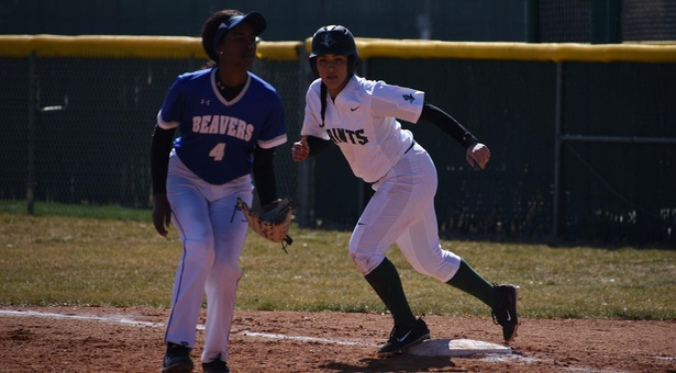 Lady Saints sweep Beavers to earn first two wins of the season