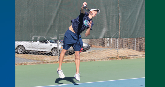 Leborgne, Angelucci Named to ITA Scholar-Athlete List