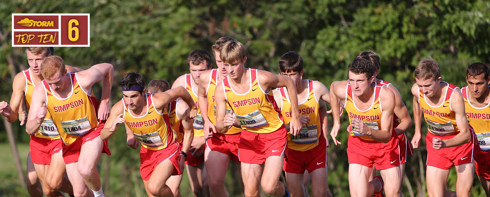 #StormTop10 Moments No. 6: Men's cross country posts second-best regional finish since 1996
