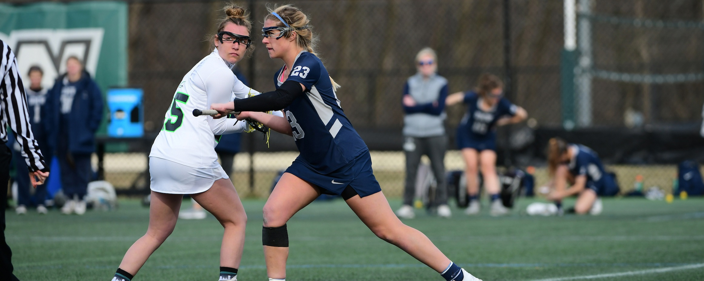 Ferrara Ties Draw Control Record in Win at Albright