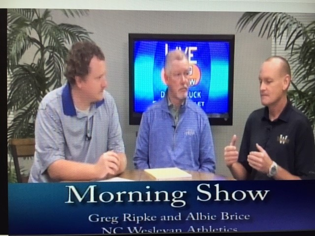 Tennis and Golf Coaches Featured on WHIG Morning Show