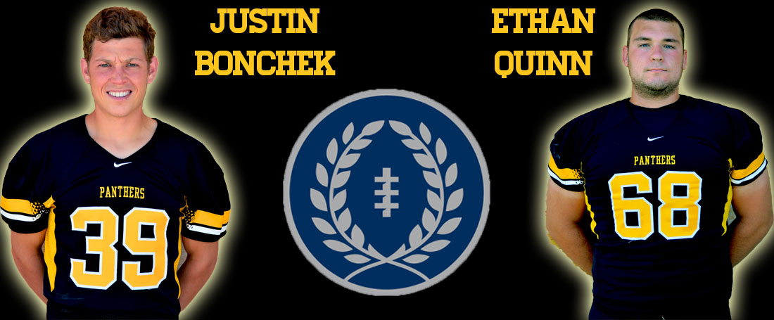 Bonchek, Quinn Named To Hampshire Honor Society