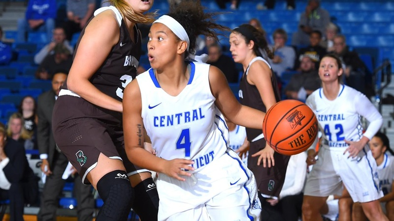 Central's Valiant Comeback Shorted at RMU in NEC Quarters