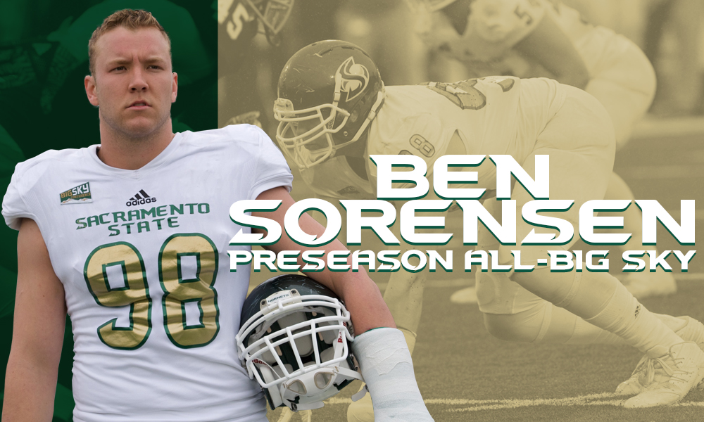 SORENSEN NAMED TO THE BIG SKY PRESEASON ALL-CONFERENCE TEAM