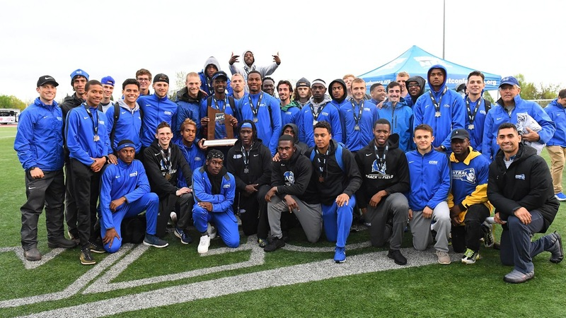 Men's Track & Field Earns 2019 NEC Runner-Up
