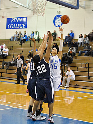 Penn College Women Defeat PSU Schuylkill