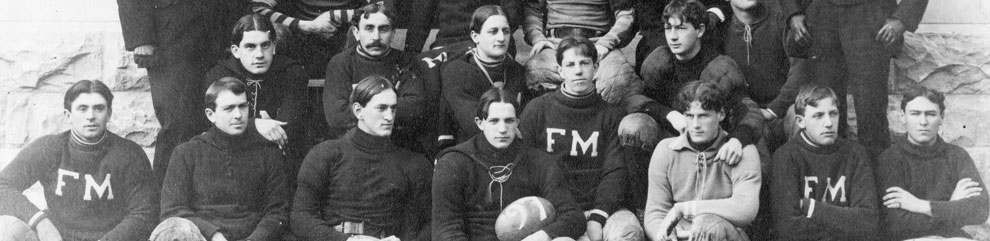 1898 F&M Football Team