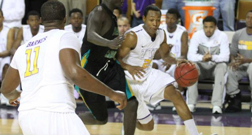 EKU pulls away late to down Golden Eagles, 80-69