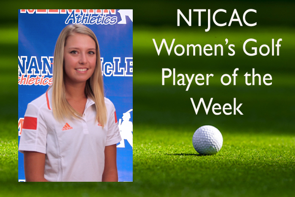 NTJCAC Women's Golf Player of the Week (Sept. 28 - Oct. 4)