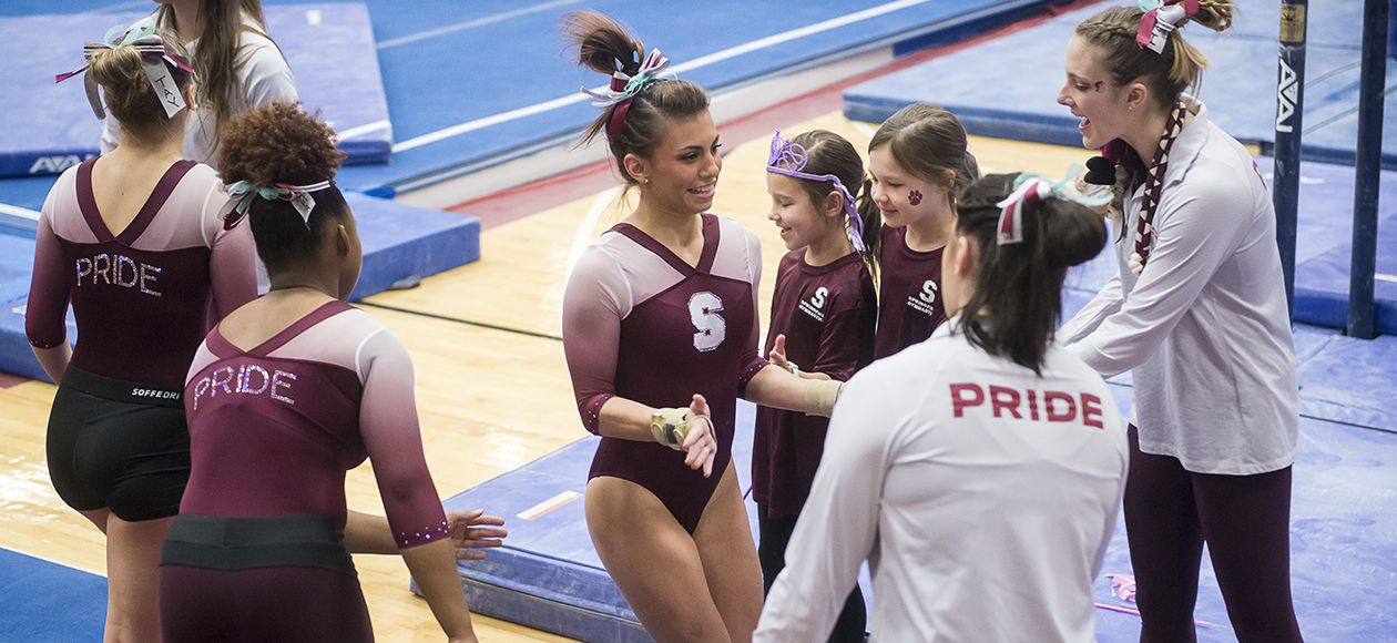 Women's Gymnastics Slotted No. 6 in National Collegiate Gymnastics Association Rankings