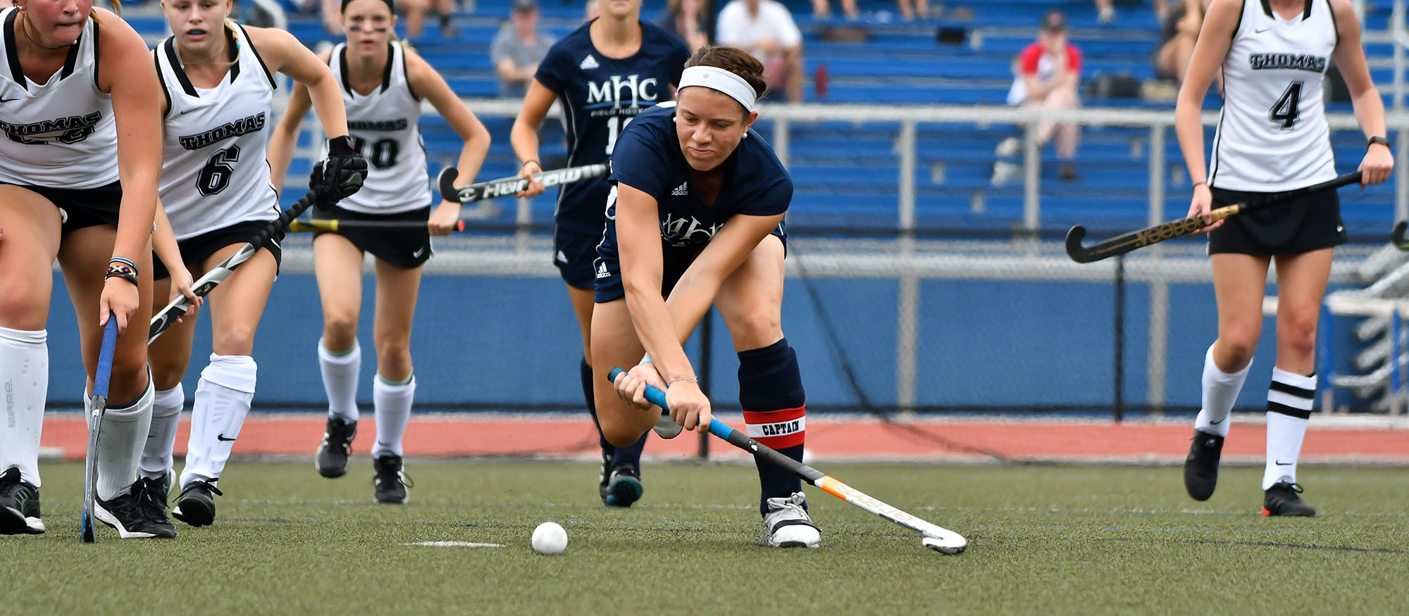 Springfield Edges Field Hockey, 3-2, in NEWMAC Quarterfinals