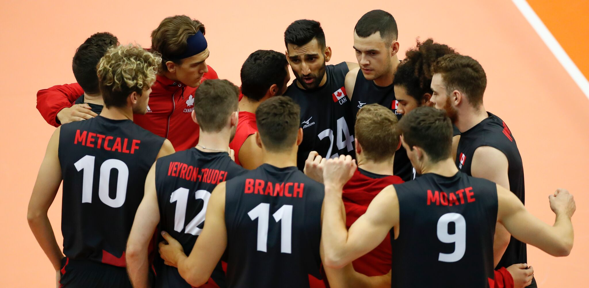 Canada swept by Iran in volleyball