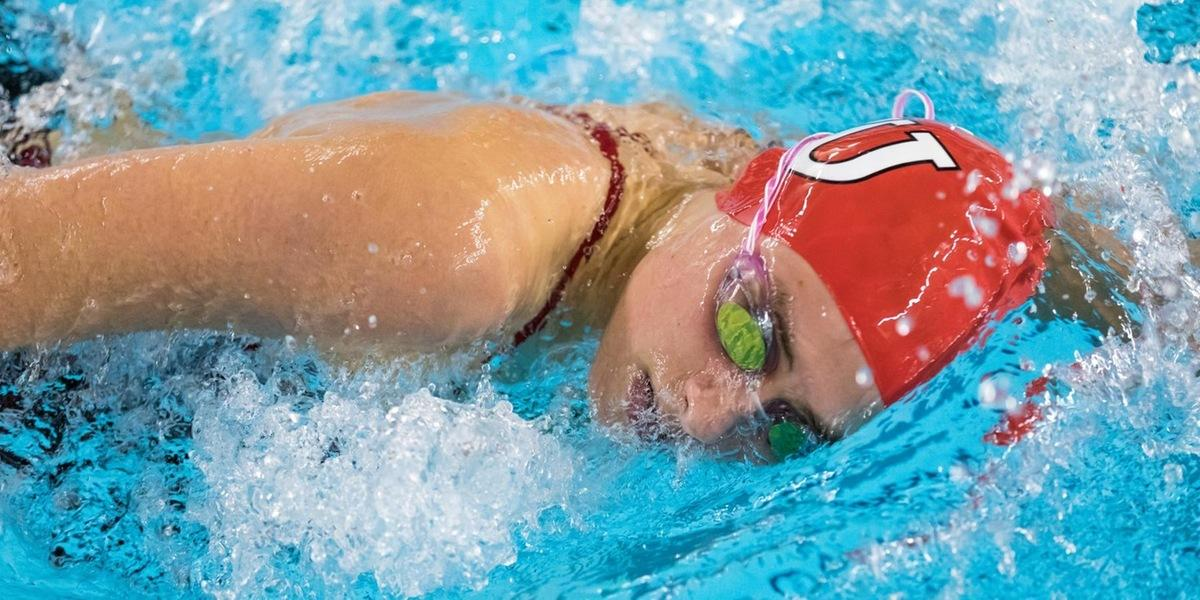 Women's Swimming and Diving Earns Victory Over Rhode Island College