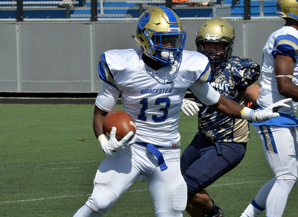 Seahawks Post 35-28 Win over Worcester State in Season Opener
