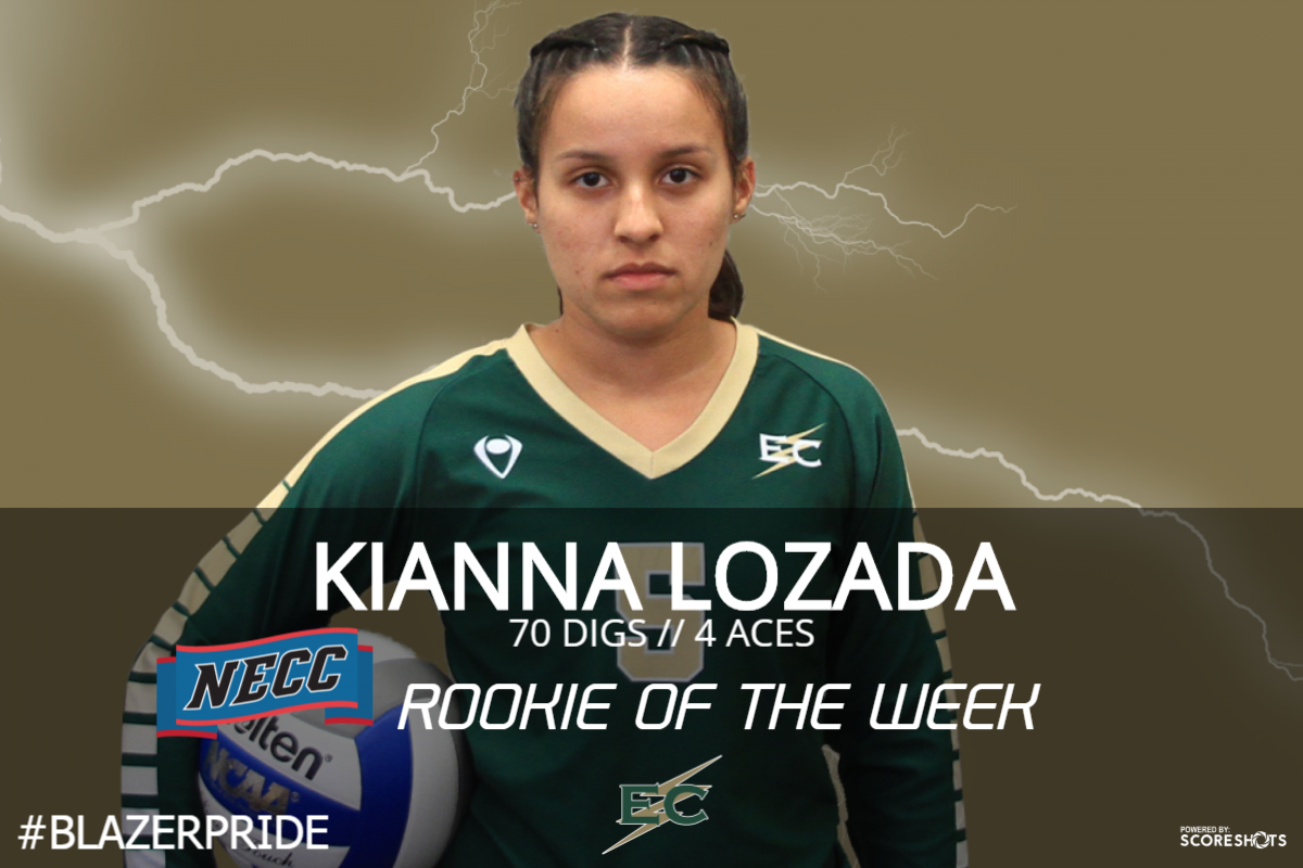 Lozada Named NECC Rookie Of The Week
