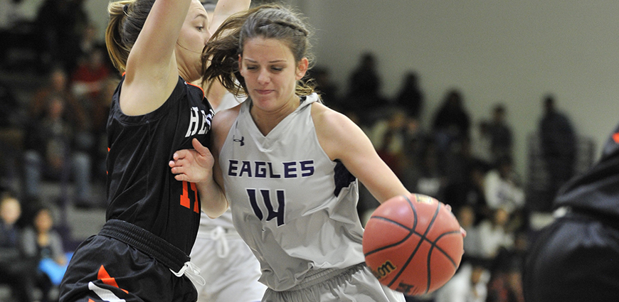 Kate Smith and the Eagles look to avenge an earlier season loss against Hendrix College.