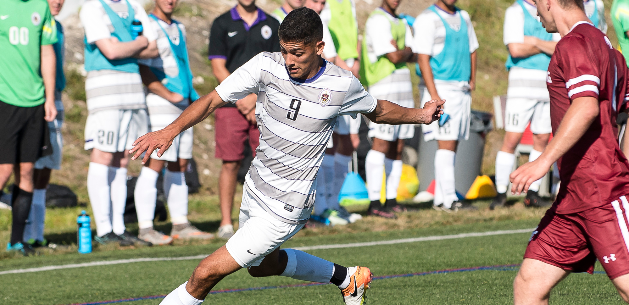 Senior Henry Bonilla scored his fifth game-winner of the year in the first half on Wednesday against Dickinson.