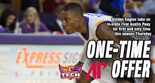 Golden Eagles tackle Austin Peay in Thursday night showdown