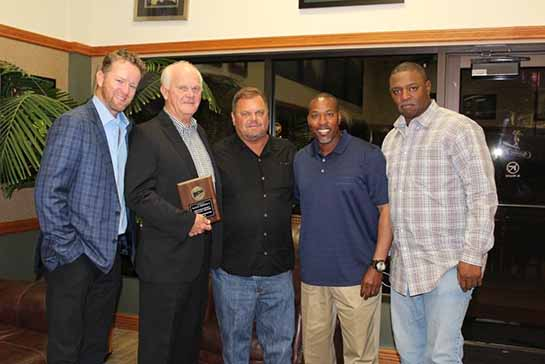 Former Seminole State College baseball Coach Lloyd Simmons Honored...