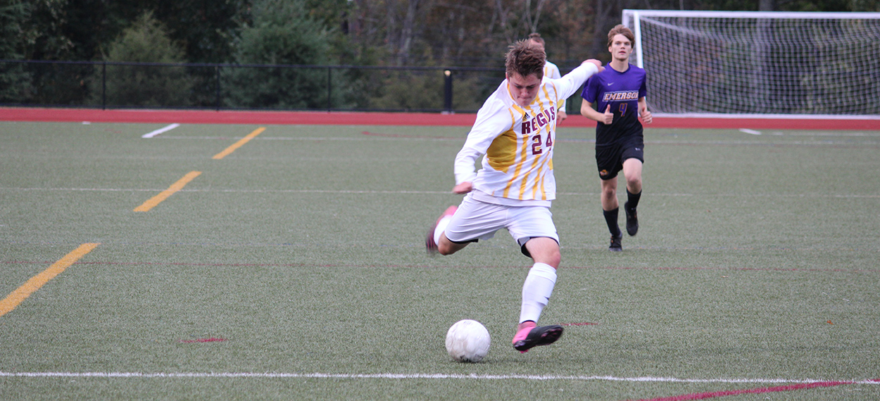 Men's Soccer Shuts Out Eastern Nazarene to Open Season