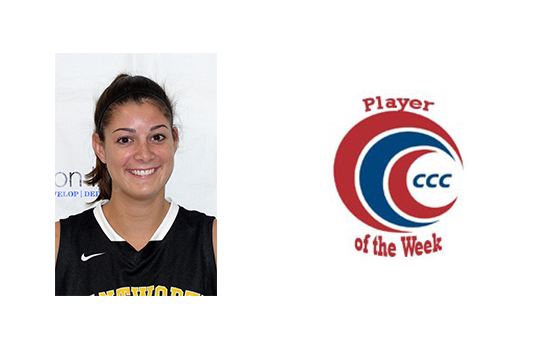 Kerr Named CCC Player of the Week
