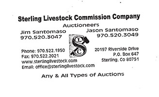 Sterling Livestock Commission Company