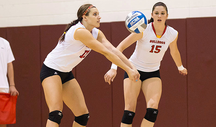 Bulldog Volleyball Back On Track After Road Sweep