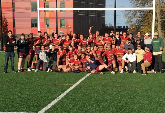 Men's Rugby: Norwich claims 3rd straight 15s conference title with 35-0 victory over Bentley
