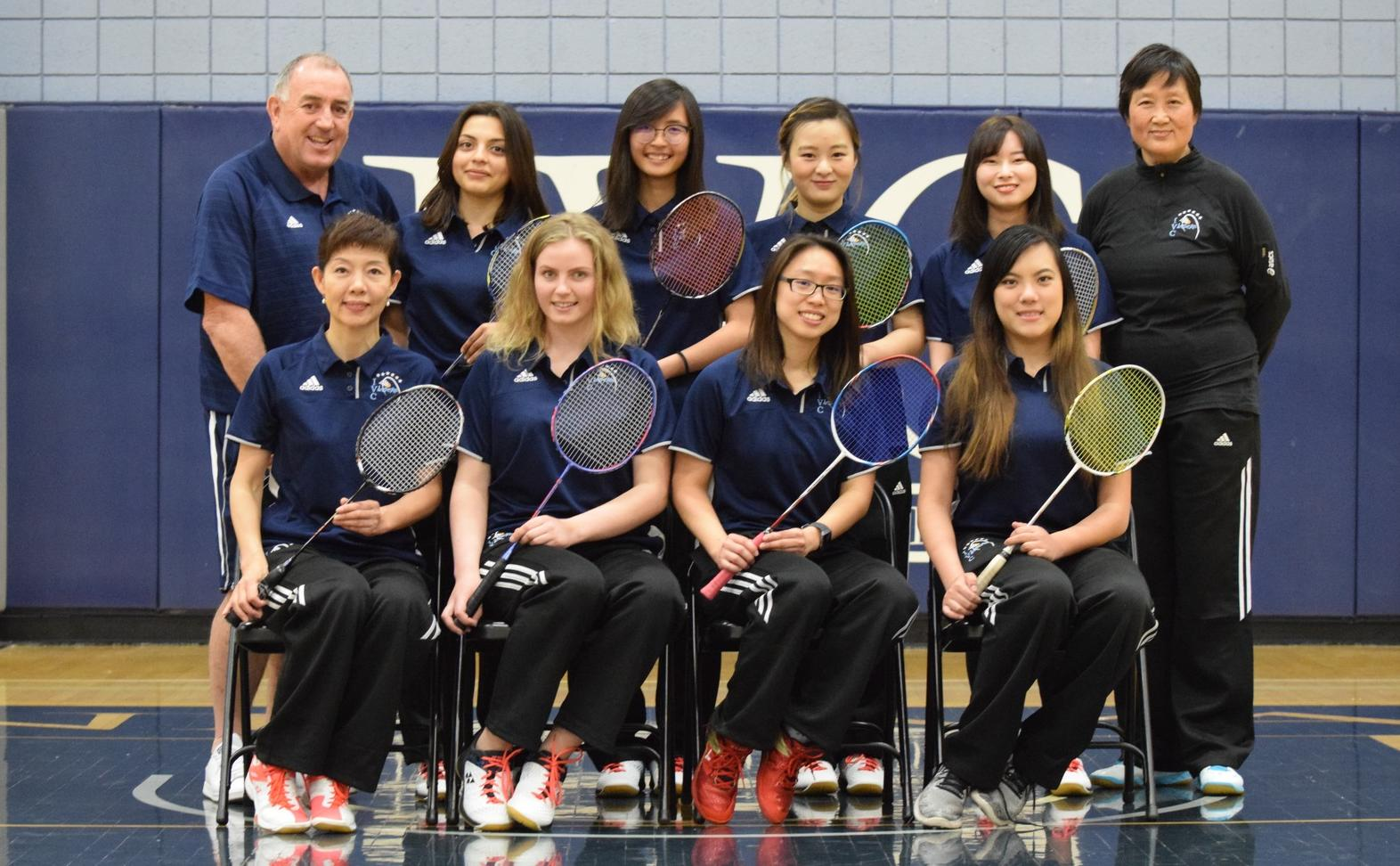 Badminton team wins Pacific Coast Athletic Conference title