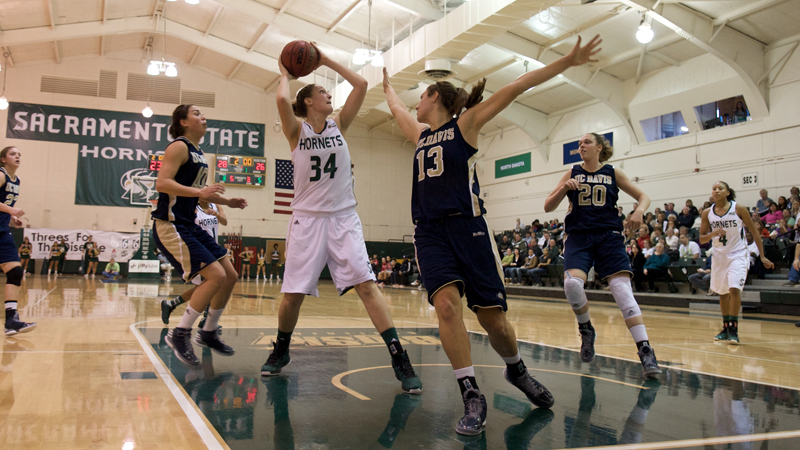 Women's Basketball Triumps over Northern Arizona