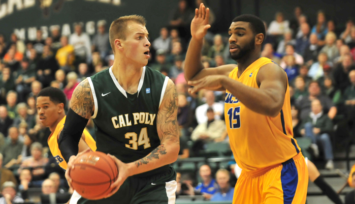 Mustang Men's Basketball Falls to UC Irvine, 63-56