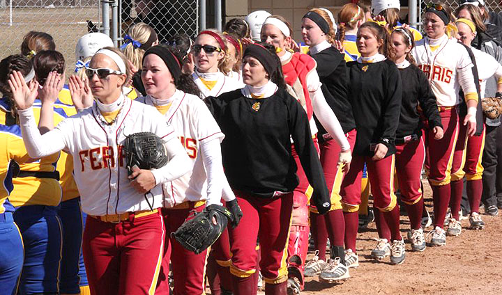 Saturday Softball At Saginaw Valley State Called Off Due To Weather