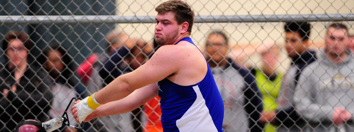 Bauer Hurls Into The Record Book With Program Record Toss At Albright Invitational For Goucher Track & Field