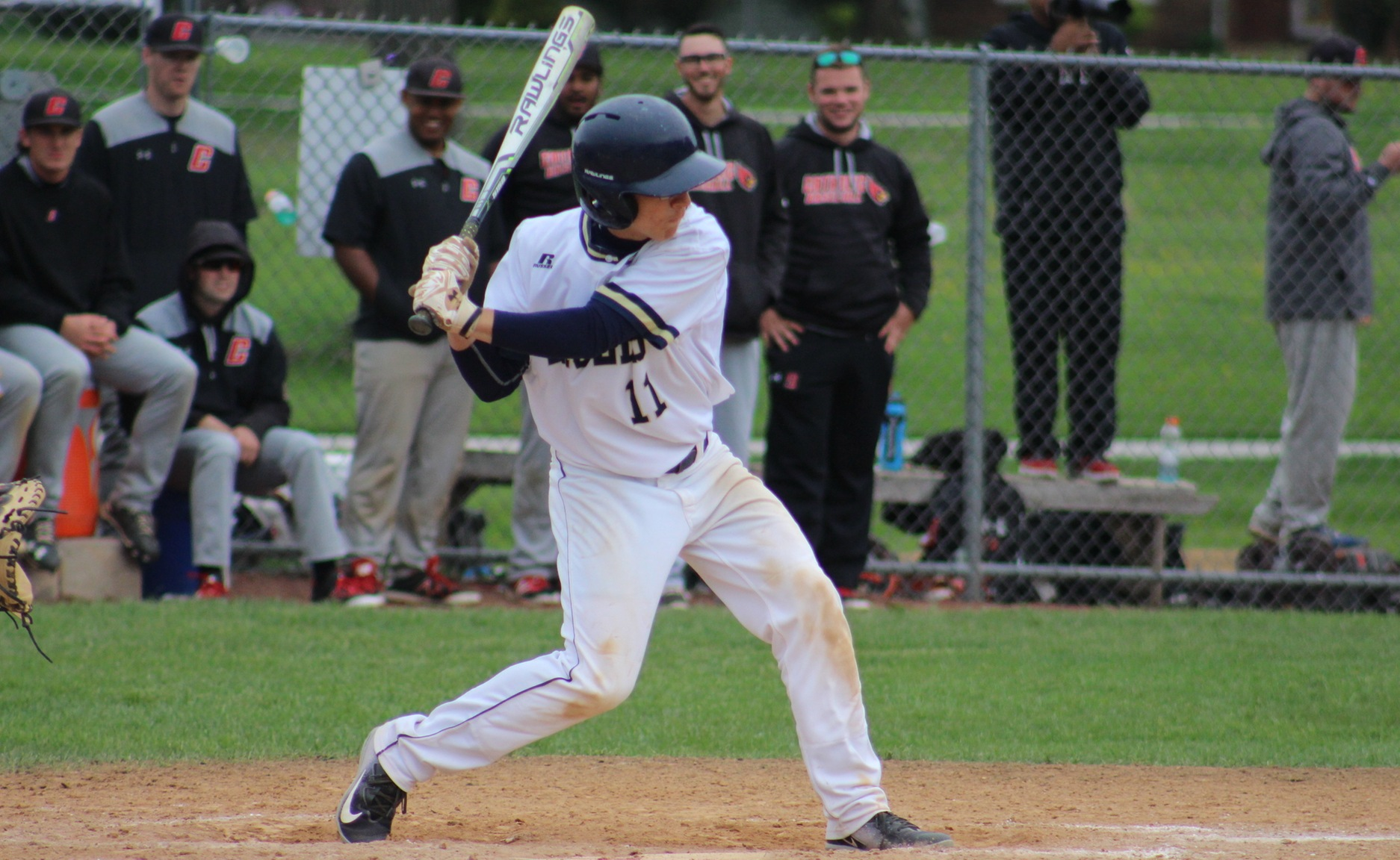 Eagles Split Doubleheader With Cardinals