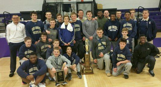 Good Counsel rolls to a fourth straight WCAC wrestling championship