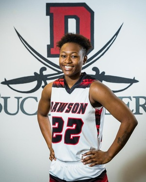 Ejanae Coopwood, Women's Basketball, Sophomore, DCC, 12/12/18