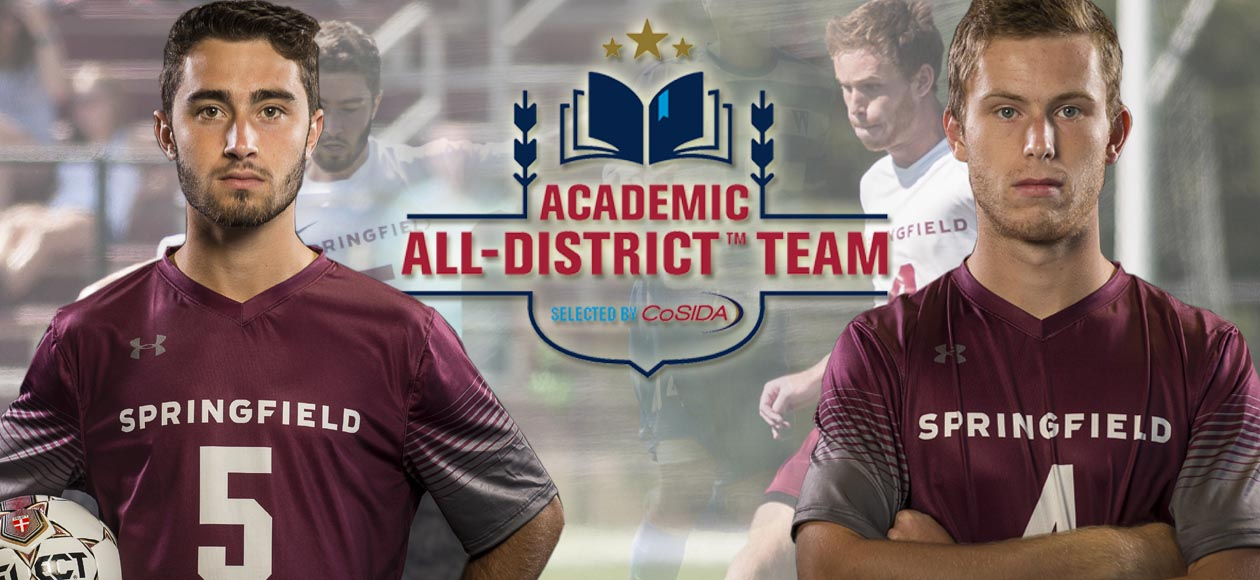 Deckel and Wood Earn CoSIDA Academic All-District® Honors