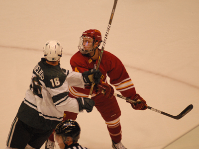 #19 Ferris State Skates To 3-0 Win At Michigan State