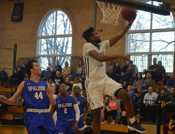 Westminster Men's Basketball Posts Double-Digit Win Over Spalding