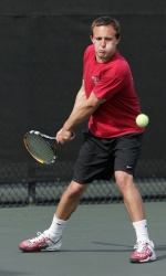 Men's Tennis Drops First Round Match to Pepperdine