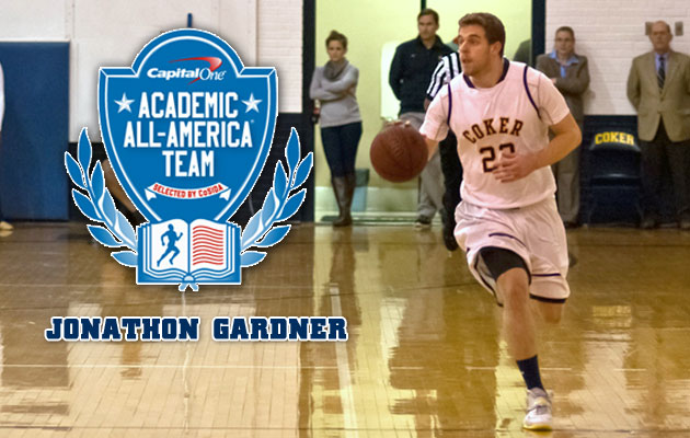 Gardner Named to Capital One Academic All-District Team