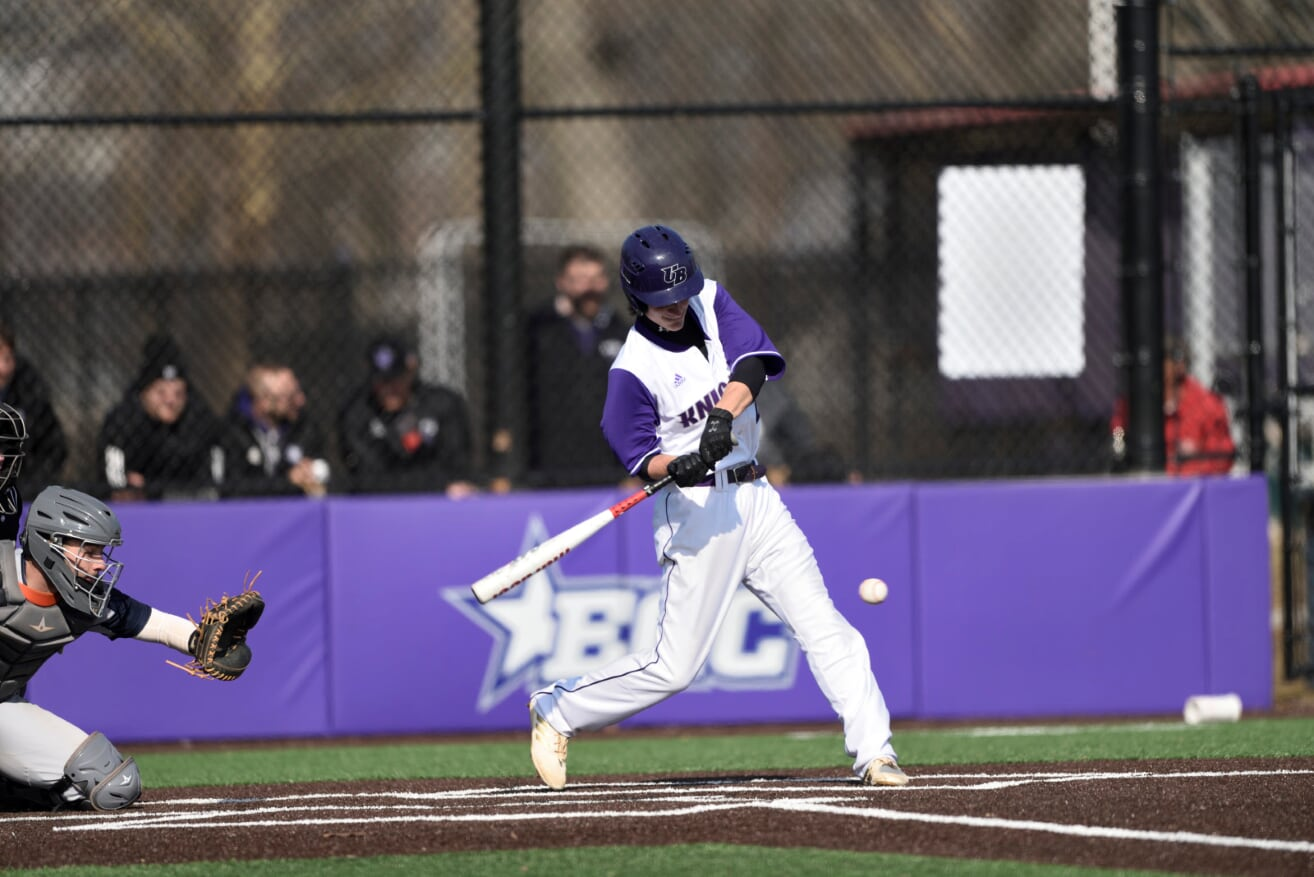 Purple Knights Prevail Over Mercy 8-7 In Two-Day, 15 Inning Baseball Marathon