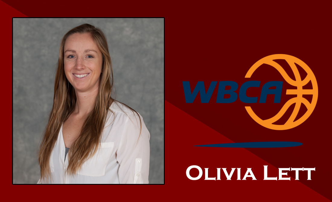 Olivia Lett receives WBCA Thirty Under 30 recognition