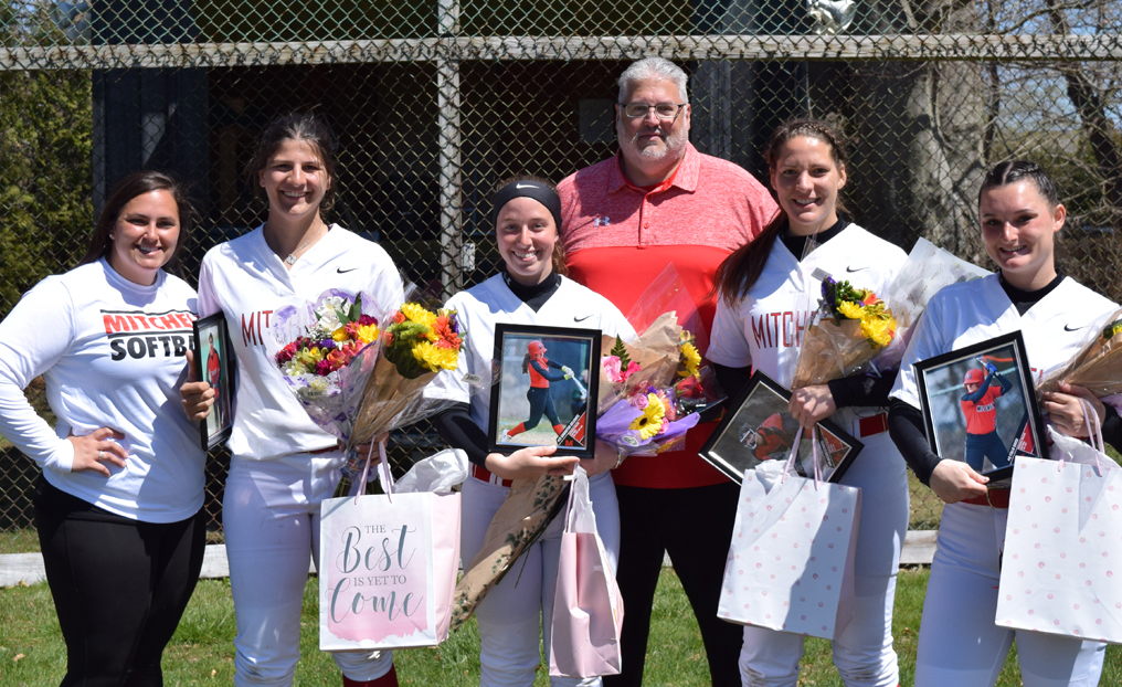Softball Loses Two to Bay Path on Senior Day
