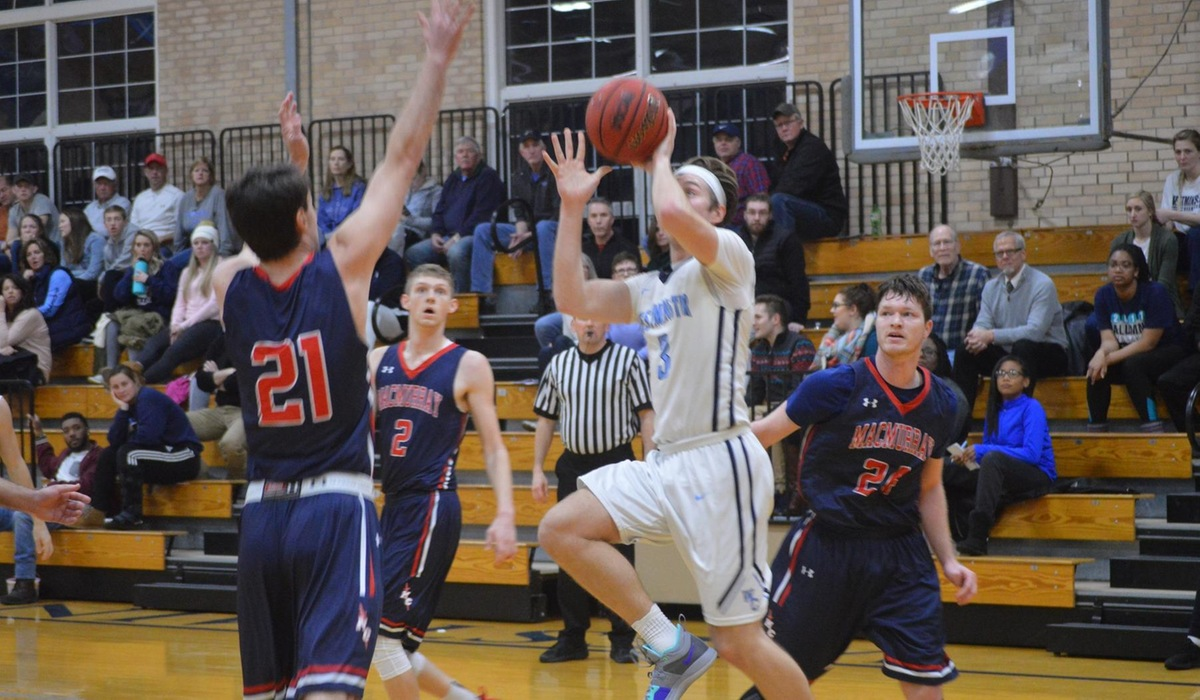 Hot Shooting Leads Westminster Men's Basketball Over MacMurray