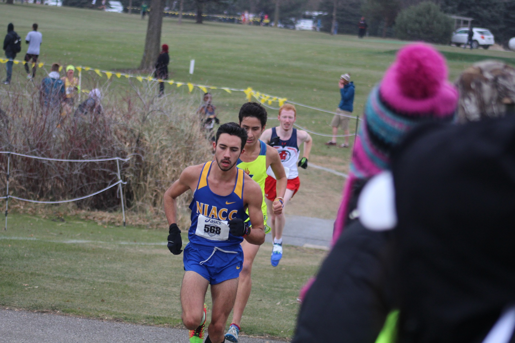 NIACC's Brian Jacques runs to a seventh-place finish at the NJCAA Division I national cross country meet Saturday in Fort Dodge.
