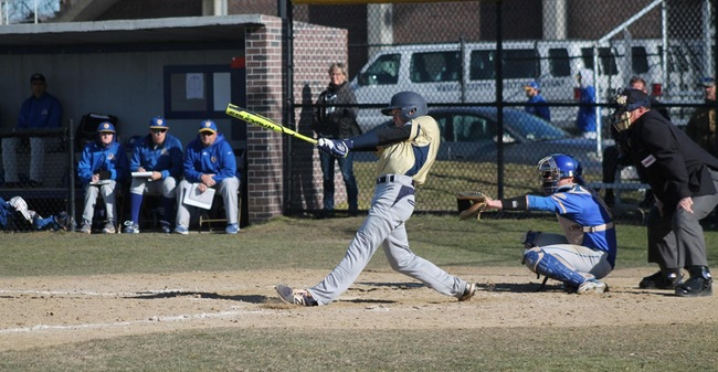 Sances Collects Six Hits As Baseball Gains Split Of Non-League Twinbill With Dean By Recording 14-6 Opening Game Victory